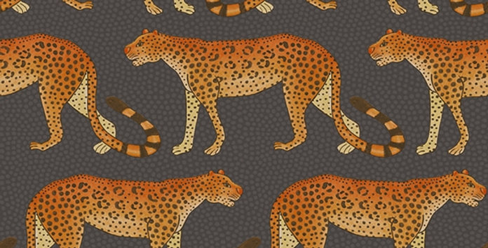 LEOPARD WALK par Cole & Son