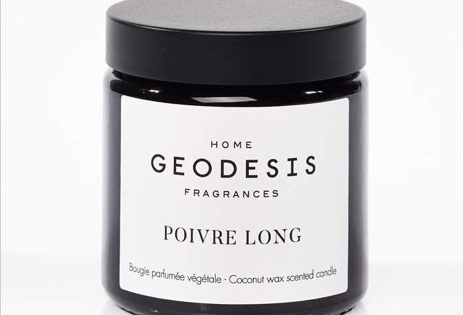 BOUGIE PARFUMEE Poivre Long, par Géodésis