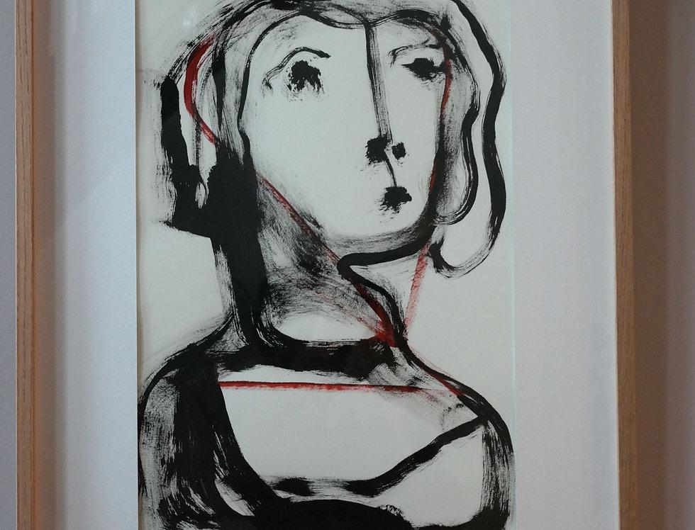 PORTRAIT DE FEMME - par Walter Jagueneau