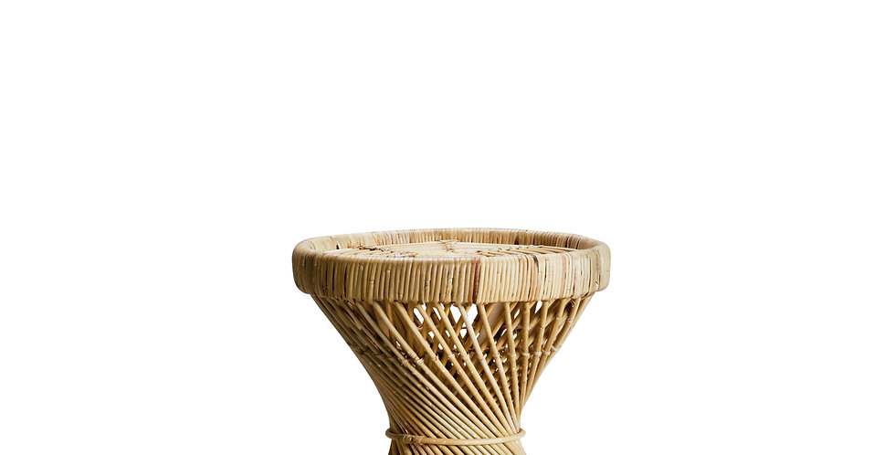 TABLE D'APPOINT, rotin