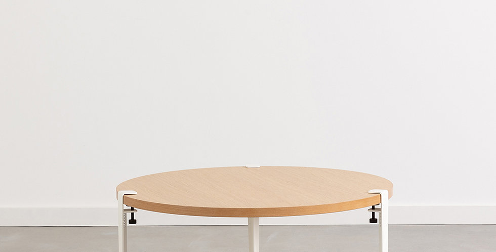 TABLE BASSE RONDE, Tiptoe
