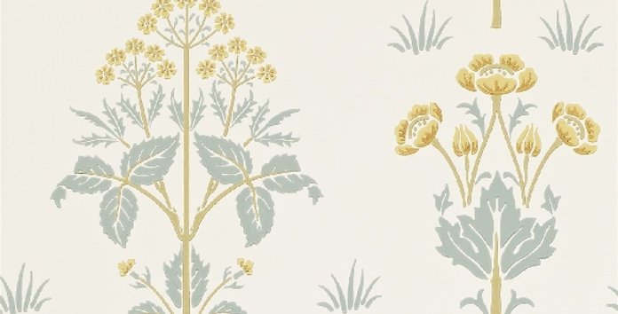 PAPIER PEINT MEADOW SWEET, par William Morris