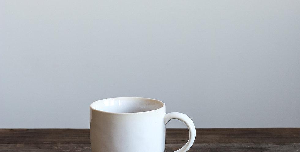 GRANDE TASSE, céramique blanche