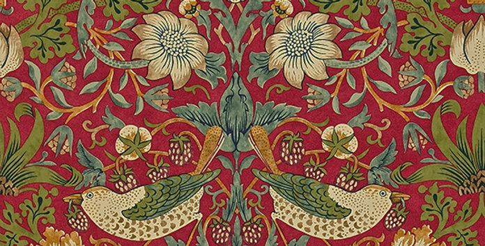 PAPIER PEINT STRAWBERRY THIEF, par William Morris