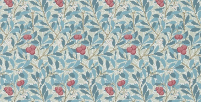 PAPIER PEINT ARBUTUS, par William Morris