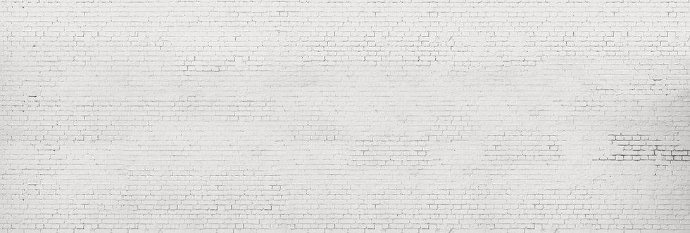 WHITE BRICK WALL par Les Dominotiers