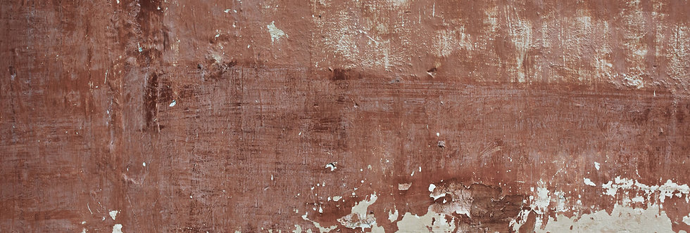 RED PATINA WALL par Les Dominotiers