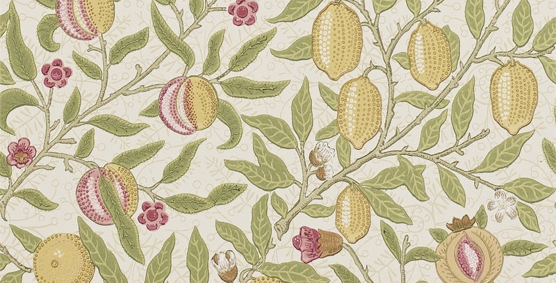 PAPIER PEINT FRUIT, par William Morris