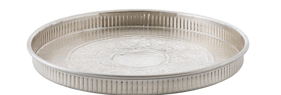PLATEAU ROND, métal