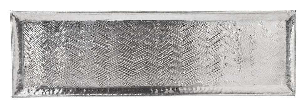 PLATEAU RECTANGULAIRE, métal