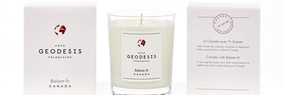 BOUGIE PARFUMEE CLASSIQUE, Balsam-Fir, par Géodésis
