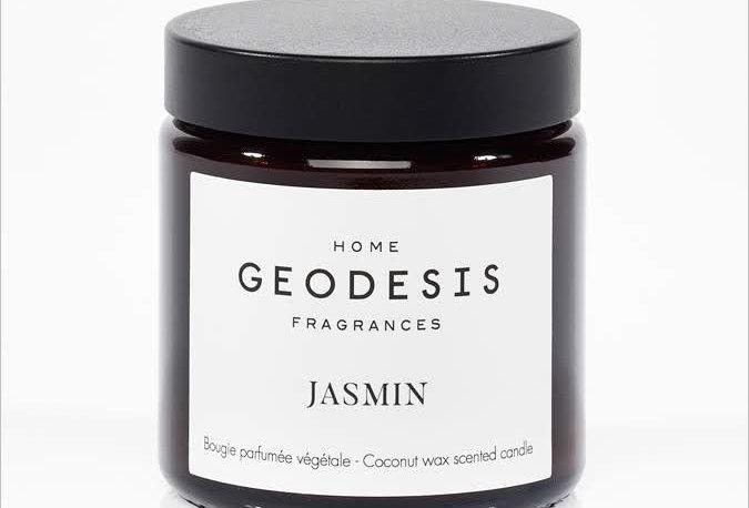 BOUGIE PARFUMEE Jasmin, par Géodésis