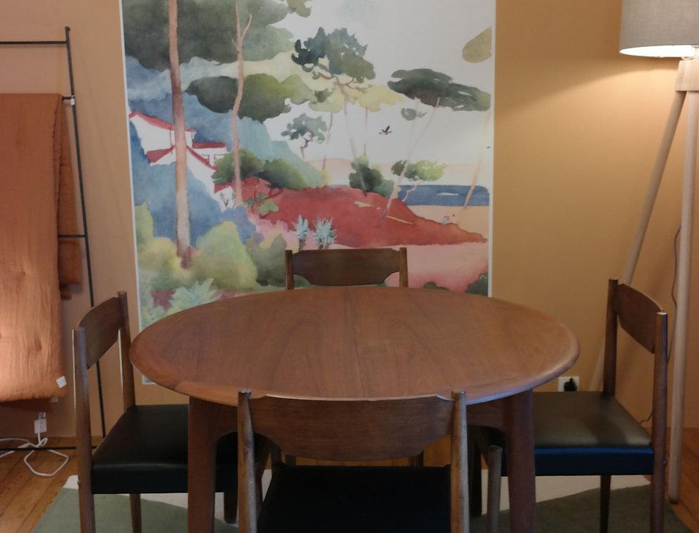 TABLE DE REPAS VINTAGE, Svend Aage Madsen- Influences Design XXe