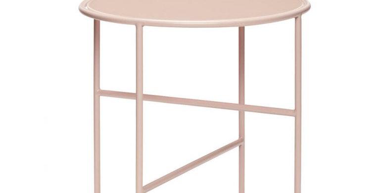 TABLE D'APPOINT, métal et verre