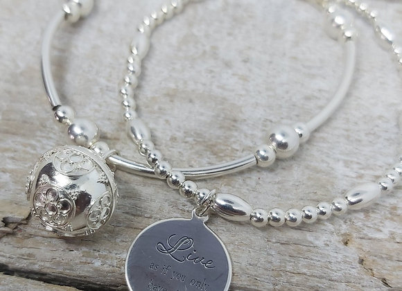 Benny&Moo double stacking set. Melody Ball Dream and Live charms