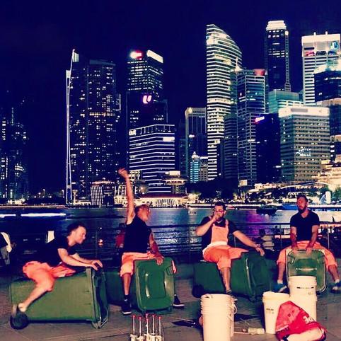 Grooveonkels in Singapur
