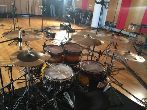 Im Studio mit 'Chato!'