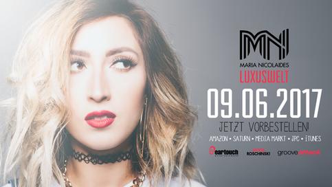 Maria Nicolaides Album Release am 09.06.2017