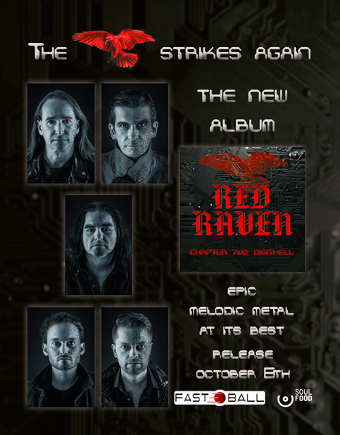 Red Raven - Chapter Two: Digithell Release 6. Oktober
