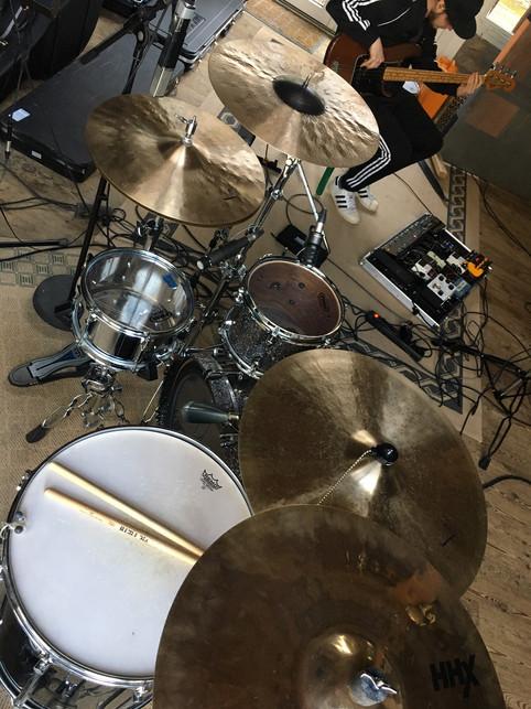 Mit 'Ulrich' im Studio