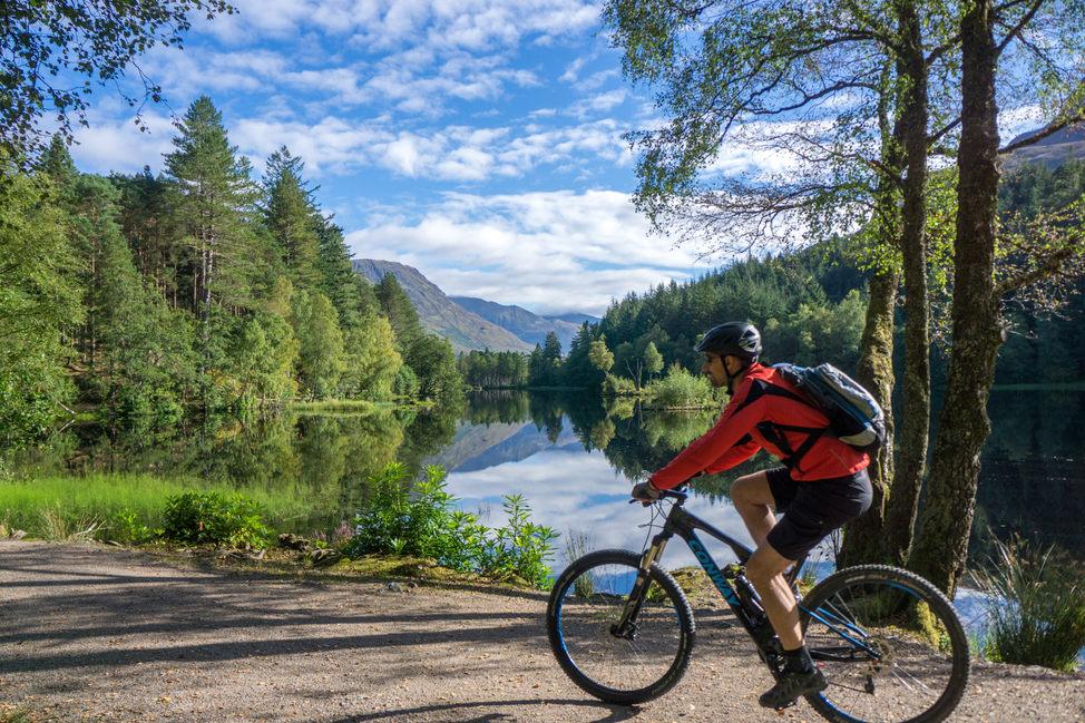 Glencoe Lochan cycle loop