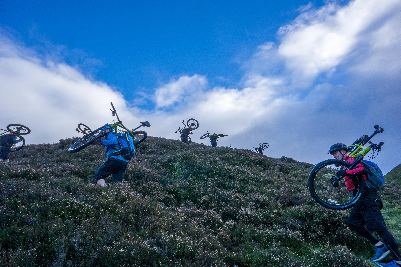 Glen Tilt, Hike-a-Bike