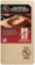Maple cedar oven plank