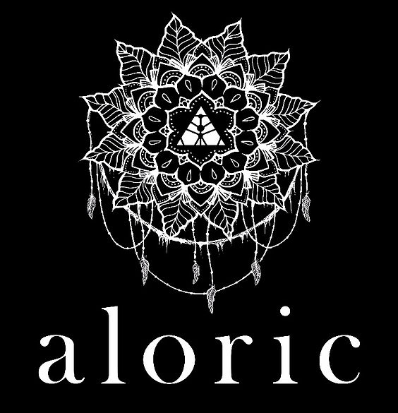 Logo of London band / artist / musician Aloric