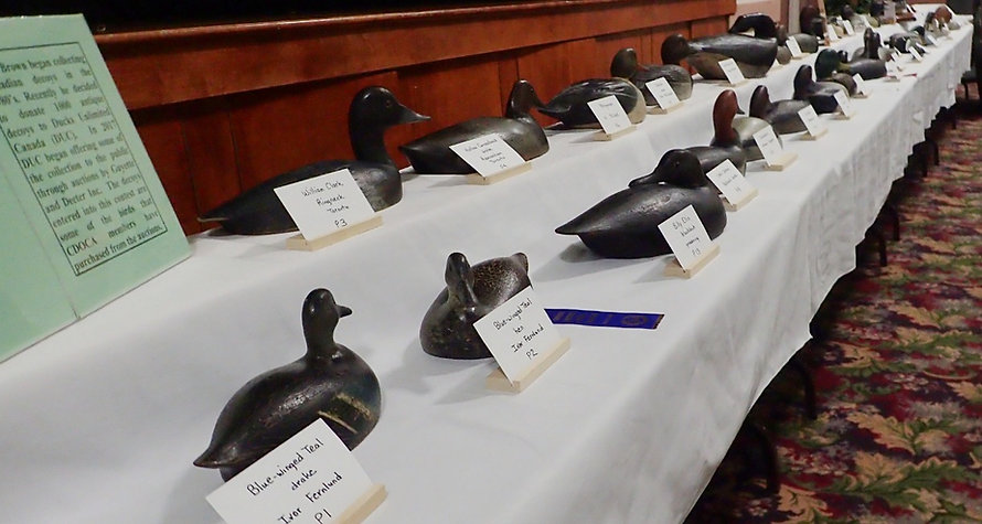 Decoys from the Peter Brown Collection