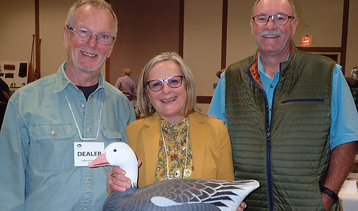 Members from the Canadian Decoy & Outdoor Collectibles Association at annual show and sale.