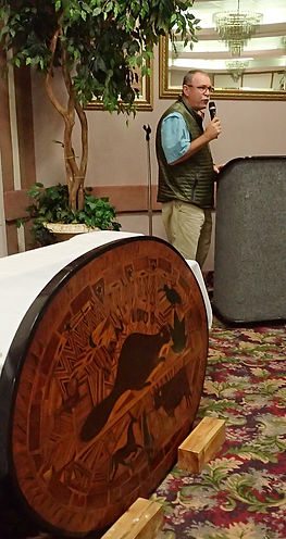 2018 President Mark Harding Canadian Decoy and Outdoor Collectible Association