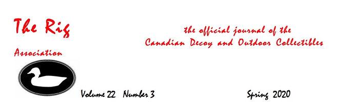 Decoys - 2020 - Spring - President's Mes