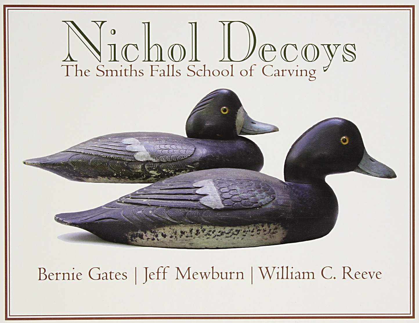 NICHOL DECOYS THE SMITH FALLS SCHOOL