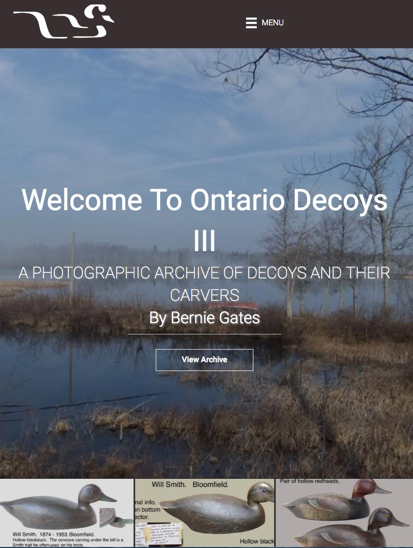 ONTARIO DECOYS III