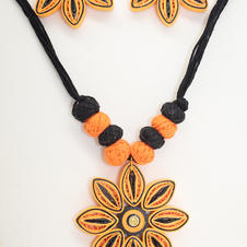 Quilled Paper Jewelry Set