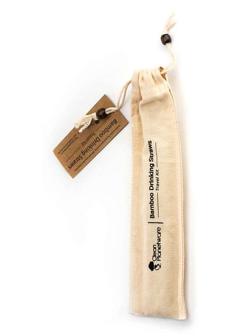 Bamboo Straw Travel Kit
