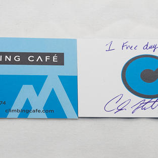 1 Day Pass at Climbing Cafe