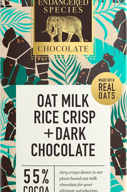 Oat Milk & Rice Crisp Dark Chocolate Bar