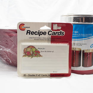 Candy Apple Red Kitchen Set