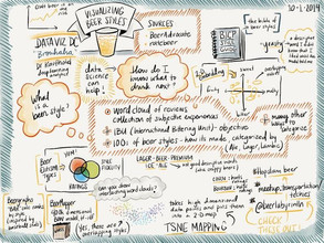 SketchNotes on the Data Science of Beer Styles