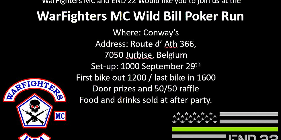 Poker Run (Wild Bill Chapter WFMC and End22