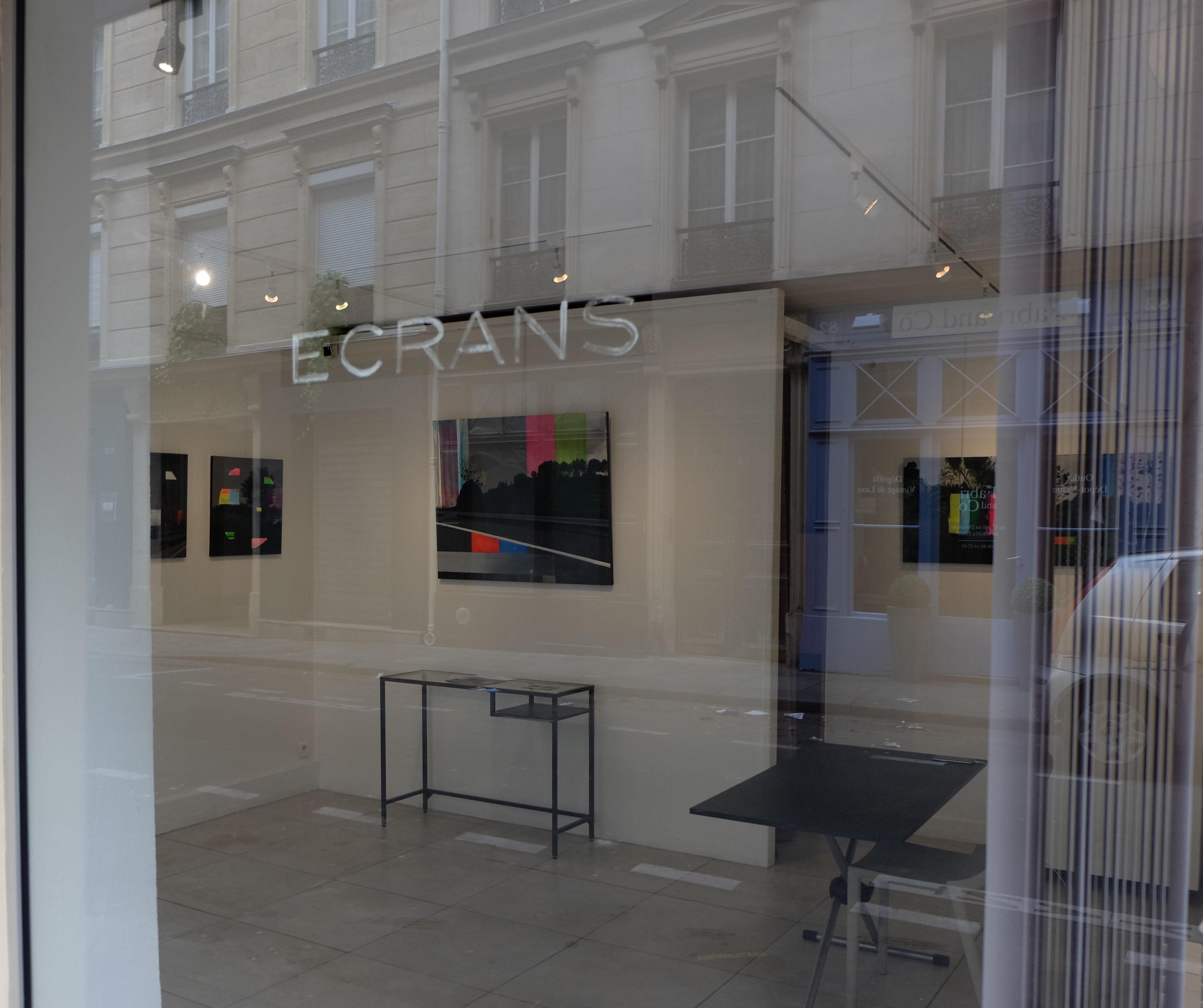 "exposition ""Ecrans"", juin 2019"