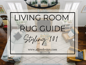 LIVING ROOM RUG GUIDE - Styling:101