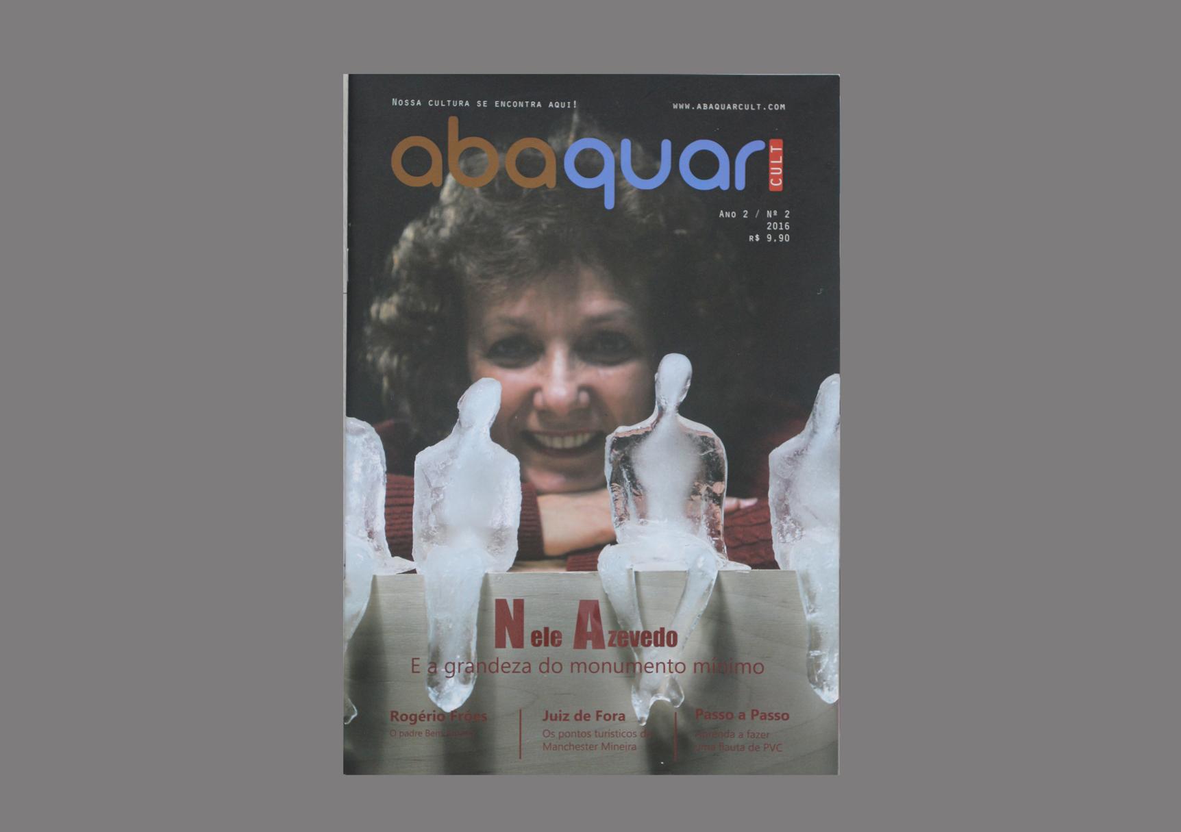 revista abaquar cult - capa - Ano 2 - numero 2 - 2016 - Santos Dumont-MG