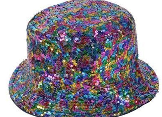 Multi-Coloured Bucket Hat