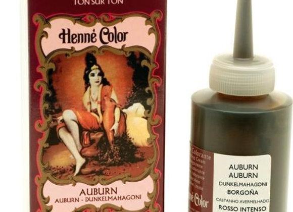 Henne Color Cream Hair Color 90ml Auburn