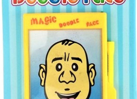 Magnetic Doodle Face