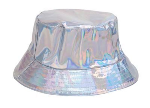 Silver Holographic Sun Hat