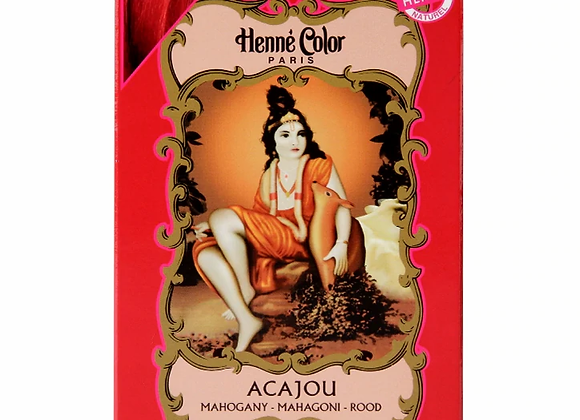 Henne Color Henna Powder Hair Colour Mahogany Red 100g
