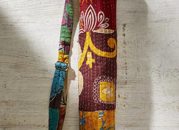 Kantha Patchwork Yoga Mat Bag